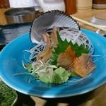 喜多郎寿し - 赤貝刺し