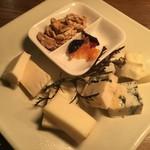 アローラ厳選 チーズの盛合せ