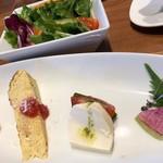 ラト・リーチェ - ランチ・前菜とサラダ