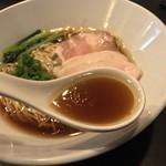 麺や福はら - 麺や福はら(大阪府大阪市生野区新今里)芳醇鶏そば 醤油