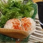腹黒屋 - 大人のポテトサラダ in ブルーチーズ