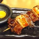 腹黒屋 - 牛肉と豆腐のすき焼き串