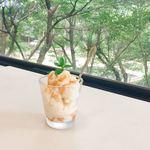 青島ハンモック - 料理写真:甘酒豆乳シャーベット