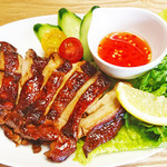 Asian Food Fuuten - 沖縄県産鶏もも肉のグリル「ガイヤーン」