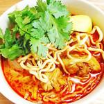 Asian Food Fuuten - タイのカレーヌードル「カオソーイ」