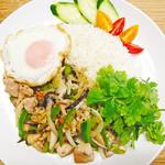 Asian Food Fuuten - ガイパッキン(鶏肉と生姜、レモングラスの炒め物)