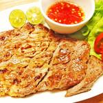 Asian Food Fuuten - 県産豚の肩ロースのグリル「ムーヤーン」