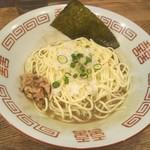 95888880 - 和え玉という所もあるがここは混ぜ玉。タレや薬味が入っててそのまま食べれる。埼玉県はこういう替え玉スタイル多し。