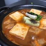 日本酒&馬肉ゆう馬 - トロトロ土手鍋