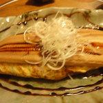 上喜源 - きのこ入り煮アナゴの和風オムレツ