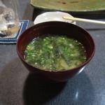 つた好 - お椀(味噌汁)