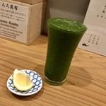 95894681 - 生レモン絞り 飲むサラダ