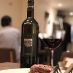 イタリアン アンド ワイン チャコール - 自然派赤グラスワイン