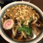 長木屋 - 料理写真:たぬきうどん本当に美味しい!