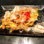 粉もん・鉄板焼 てんてん - 漬物ステーキ