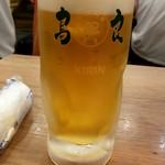 鳥良商店 - 生ビール:クーポン