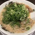 来来亭  - ラーメン 麺硬め、一味唐辛子抜き、ねぎ多め