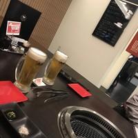 金山ミートキッチン-生中¥490