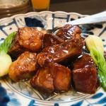 オーパスワン - 料理写真:スペアリブの黒酢あんかけ 980円