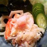 藤九寿司 - 蟹酢