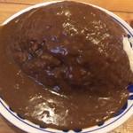 河 - カレー山盛(ご飯1kg)