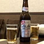 食彩 あさ乃 - ドリンク写真:ノンアルコールビール