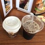 95901346 - アイスコーヒーと後っとコーヒー