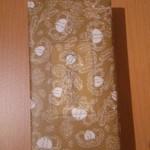 95903702 - 栗羊羹 ミニ 6個入り 包み紙はこんな感じ