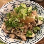 京極スタンド - 豚ぽん酢
