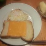 エビス - チーズトーストにしました
