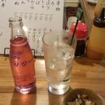 もつ焼きじろちゃん - バイスサワー(400円)