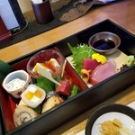 Kappouizakayashuenseigetsu - 「松花堂弁当 (1500円)」の一の段