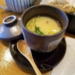 95905864 - 茶碗蒸しも出汁が効いてて美味しい