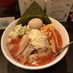 95906176 - 味噌ウルフ (ピリ辛極太麺)  880円  味玉トッピング 100円