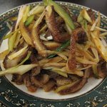 中国美食坊 聚珍楼 - 蜂の巣とキュウリの炒め物