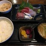 梵天 - (料理)刺身定食①