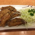 風来坊 - 手羽先唐揚げ5本¥500(税別)