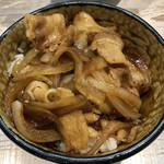 中華そば 四つ葉 - 「ガリシア栗豚のしょうが焼き丼」400円