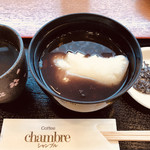 シャンブル - 塩昆布と焙じ茶までついて550円。小腹も大満足の美味しさです(о´∀`о)