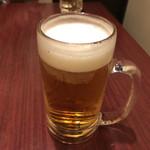九州うまか - 2018年11月2日  生ビール