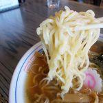 松月 そば店 - 20番細麺