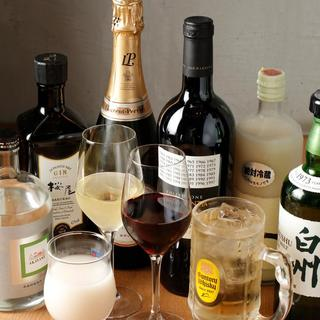 コスパの高いワインが充実しています。