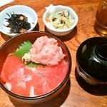 むつ湊 渋谷本店 - ランチ 鮪ねぎトロ定食