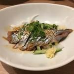 三代目 鳥メロ - 秋刀魚のりゅうきゅう