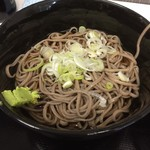 永坂庵 - 冷たい蕎麦。