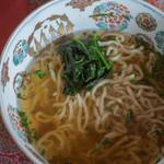 """中村製麺所 - """"平打(ひらうち)""""切麥(きりむぎ)を熱麥(あつむぎ)に ※Cooked by 卍"""