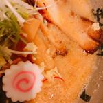 95927558 - 半ラーメン味噌 620円