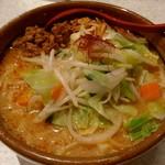 麺場 田所商店 - 北海道辛味噌野菜ラーメン(大盛)