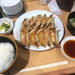石松  - 石松餃子定食 15ケ 1,280円