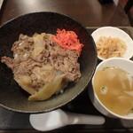 95928774 - 羊美亭丼セット¥800
